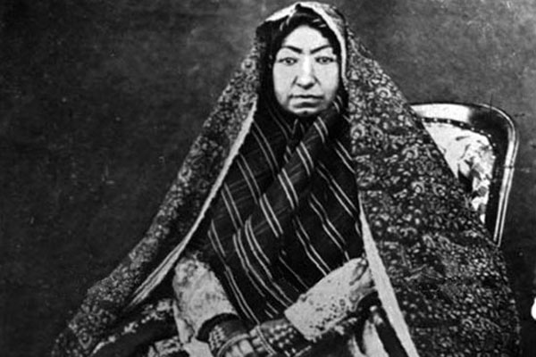 مهدعلیا, مادر ناصرالدین شاه