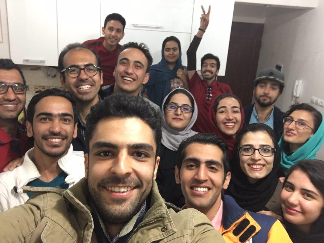 جمعی از عزیزان آسمان مهر، تا ابد بادا پاینده ...