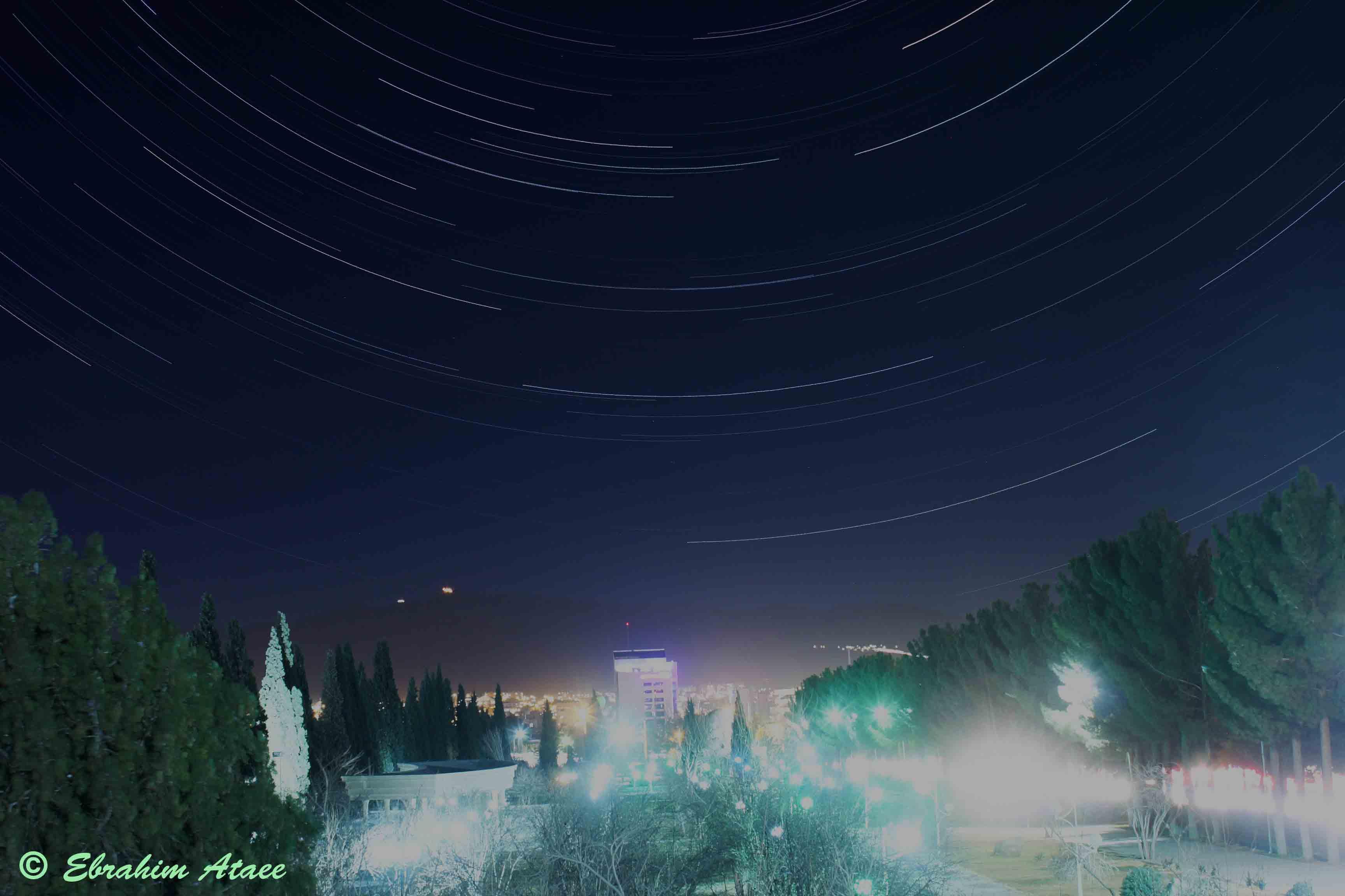 پارک توحید بیرجند رد ستارگان اثر ابراهیم عطائی